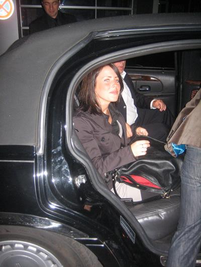 Concierge Dinner Solar Berlin Restaurant Bar Lounge - Marie in der von SageCars bereitgestellten Limousine