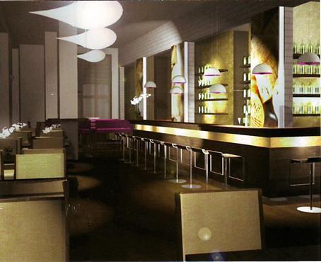 Lanninger Berlin - Bar - Smokers Lounge - Restaurant - Eröffnung März 2008 - Lannis eigene Bar - e-concierge Empfehlung