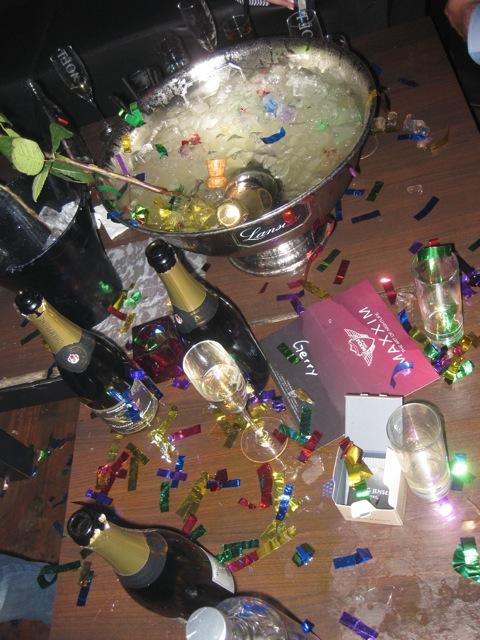 Herzlichen Dank ans Maxxim - es war eine grandiose Geburtstagsfeier