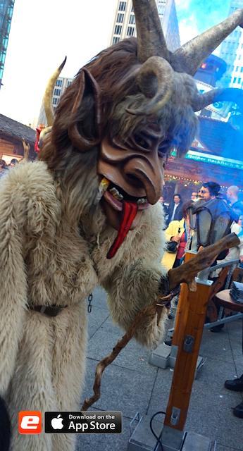 Winterwelt Salzburger Stiegl Alm Maske Winterwelt Potsdamer Platz Mostviertler Königsperchten Bergmann Eventgastronomie