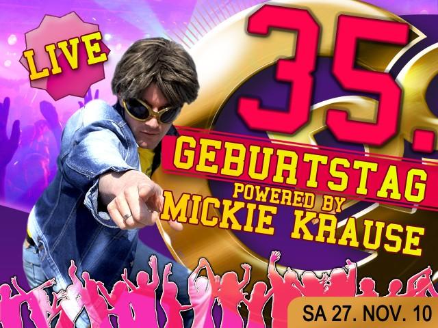 Gewinne ein Meet & Great  mit Mickie Krause live im Qdorf zum Geburtstag am 27.11.201