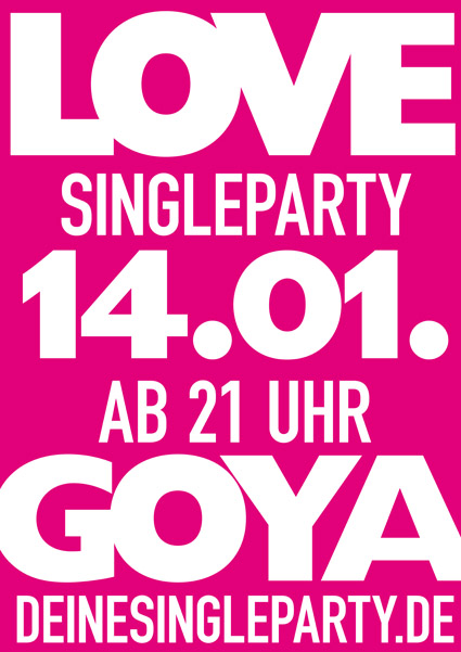 Single party berlin goya