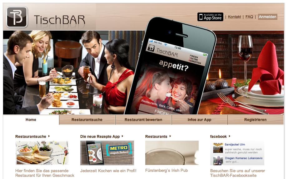 Restaurantfinder Metro TischBAR