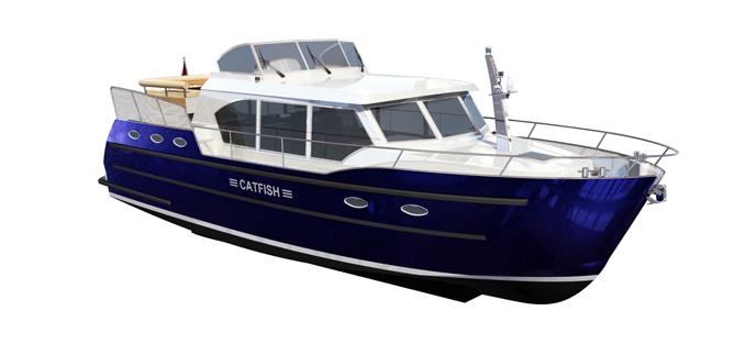 Gielissen Linskens Shipyard Yacht Charter Potsdam Catfish Berlin