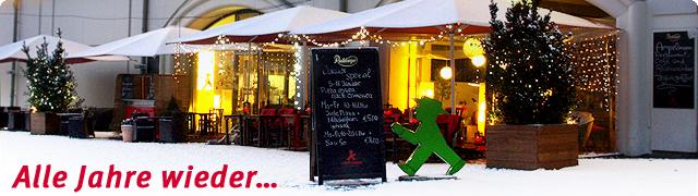 Ampelmann Weinnachtsfeier 2012 Restaurant