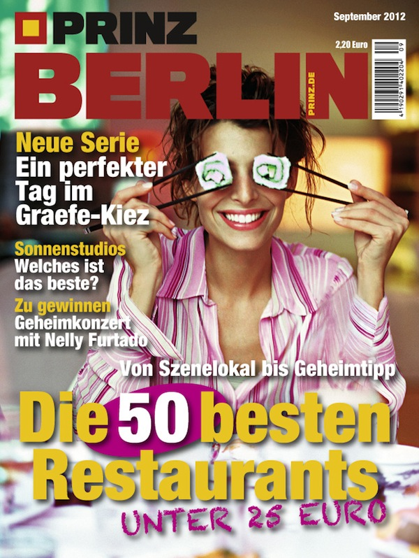Prinz Berlin 09 2012 Ausgabe September e-concierge recommend