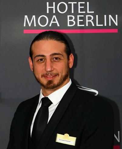 Giuseppe Badalati MOA Hotel Berlin Restaurant Supervisor November 2013