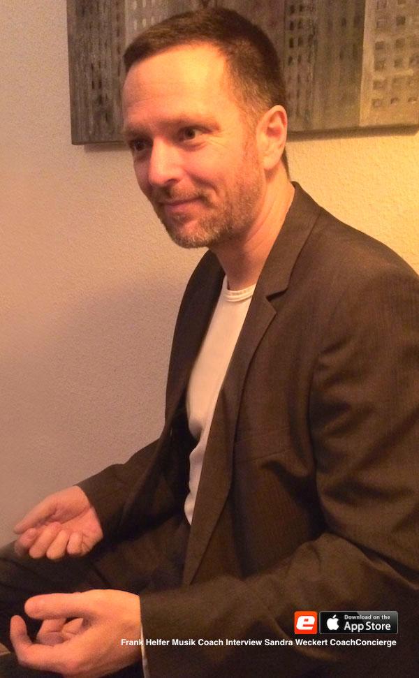 Frank Helfer Musiker Sandra Weckert Coach Concierge Rhythmusgruppe pädagogisch