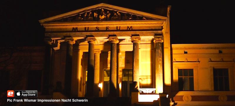 Museum Schwerin Nacht Impression Frank Wismar e-concierge Mecklenburg Vorpommern