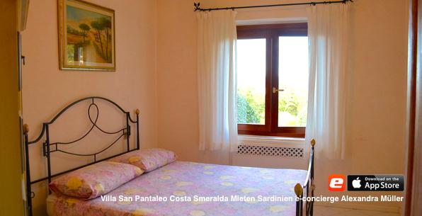 bedroom Villa Pool mieten Sardinien San Pantaleo Costa Smeralda Italien