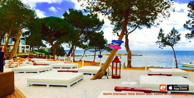 Lounge Bar Martin Eiteneuer Nikki Beach Ibiza Saison 2015 e-concierge