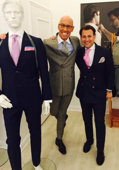 Allan Edelhajt StyleConcierge 2015 Tailor on the Road Mass Schneider Corporate Clothing