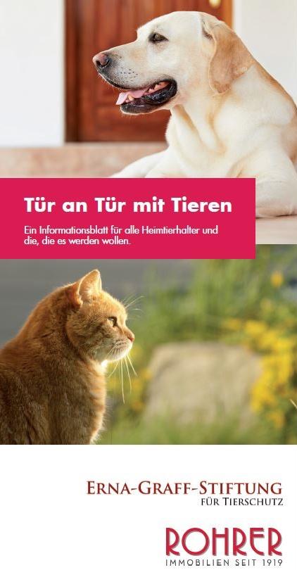 Erna Graff Stiftung Hund Katze Maus Schutz 2015 Immobilien Hausverwaltung Daniel Schmidt