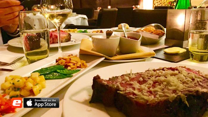 Wilsons Prime Rib Steak Restaurant Hotel Direktor Concierge Meeting Dinner Marcus Neuzerling Gerry