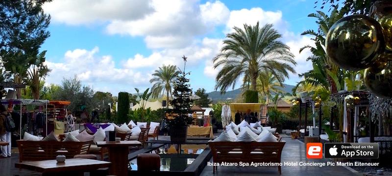Terrasse Ibiza Atzaro Spa Agroturismo Hotel Finka Style Concierge