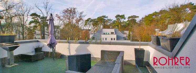 2016 Terrasse Blick Potsdam Maisonette Wohnung Stadtvilla Filmpark Babelsberg sued Kaufen Tiefgarage