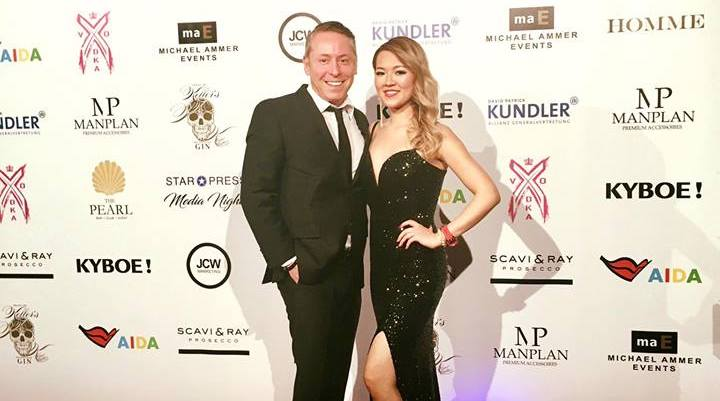 2017 0405 PEARL Afterwork Michalel Ammer Gerry Frank Concierge Jolie Loi Singer Red Carpet Media Night Blog