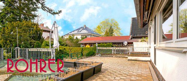 2017 2104 Haus 12107 Berlin Kauf Objekt-ID 100064 O 56393 EFH Mariendorf Garten Pool Garage Terrasse