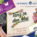 Traditioneller Tanz in den Mai – Mit dem Mai-Bock-Anstich werden viele Traditionen in dieser Nacht vereint. Die Preussen feiern auch die Walpurgisnacht.