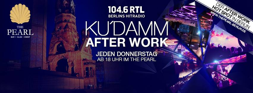 Ku'Damm After Work | 104.6 RTL im THE PEARL mit Live Musik