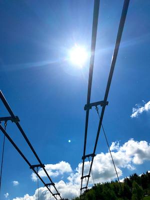 2017 2105 Harzdrenalin Titan RT Hängebrücke Gigaswing Megazipline Seilretusche Rappbodetal Staumauer Wander Wochenende Freimaurer