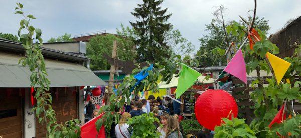 2017 Impression Sushi Festival Leo Veranstalter Birgit Bier Club Visionaere Treptow Kreuzberg Berlin Pfingsten