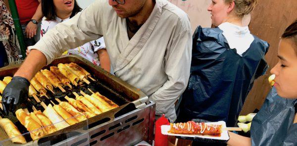2017 Crepe Asian Spiess Sushi Festival Leo Veranstalter Birgit Bier Club Visionaere Treptow Kreuzberg Berlin Pfingsten