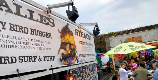 2017 Burger Surf Torf Sushi Festival Leo Veranstalter Birgit Bier Club Visionaere Treptow Kreuzberg Berlin Pfingsten