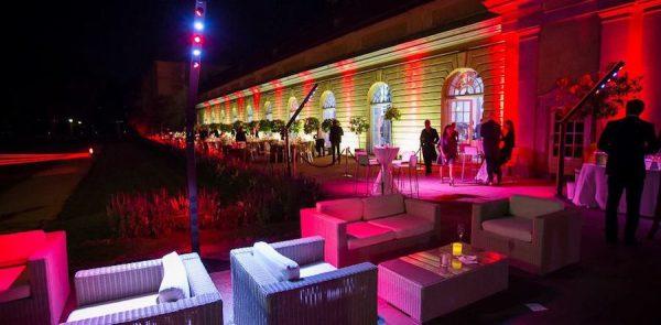 Weisse Partynacht Premiere Frank Berkholz ShowConcierge Franky DJ Orangerie Schloss Charlottenburg