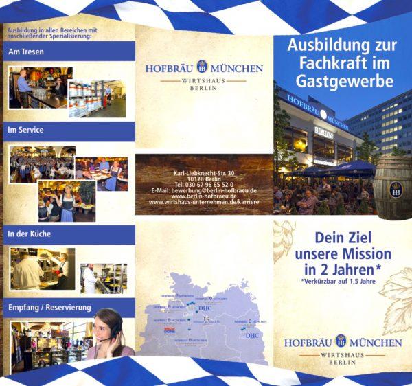 Hofbräu Berlin Ausbildung Einladung Bedingungen