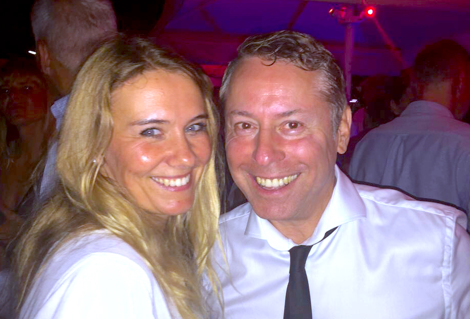 Katja Gerry Concierge Pearl Afterwork Club Terrasse