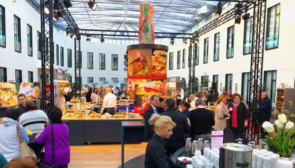 avado group B2B Event inhouse Messe Brot backen Backlinge neu Werk Produktion Service