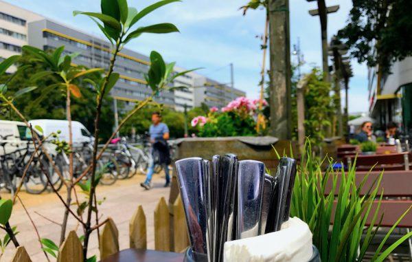 2017 2706 Besteck Service Hofbraeu Berlin Terrasse Motive Sommer Neu