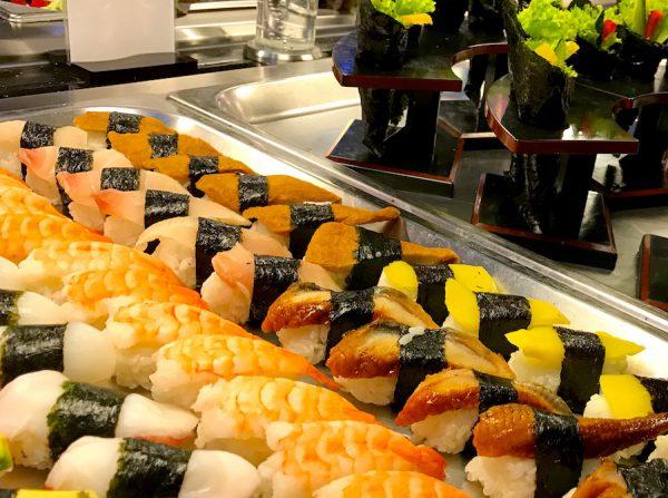 Gruppe Reservierung ohne Asiatisch Asian Buffet Zhous Five Restaurant Chinesisch Sushi