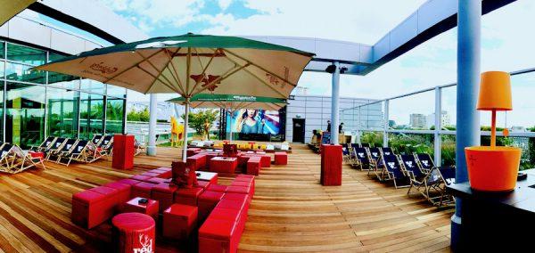 Sommerfest eConcierge Stilwerk Rooftop Bar Eventlocation Concierge Gerry Panorama