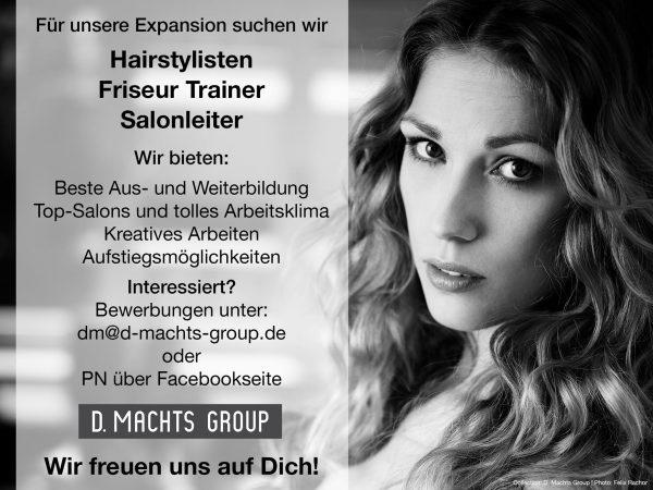 Friseur Ausbildung Stylist D Machts Group Akademy A heads Fakten Voraussetzungen