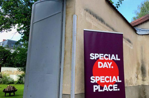 Empfang Eintritt PLACCES SOEHT 7 Ateliers ehemalig Frauengefängnis Lichterfelde Sommerfest Betreiber neu Event Location