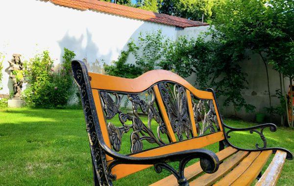 Erholung Garten Bank PLACCES SOEHT 7 Ateliers ehemalig Frauengefängnis Lichterfelde Sommerfest Betreiber neu Event Location