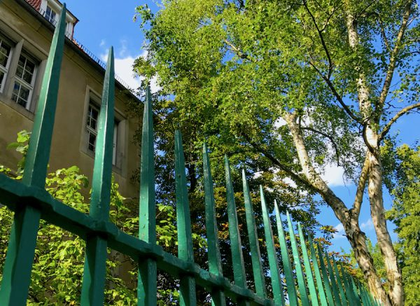 Zaun Mauer PLACCES SOEHT 7 Ateliers ehemalig Frauengefängnis Lichterfelde Sommerfest Betreiber neu Event Location