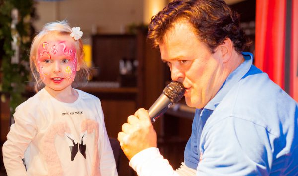 Bühne Interview mitmachen Kinderbrunch Christian KiKANiNCHEN Legoland Discovery Hofbräu Berlin Photoconcierge Joerg Unkel