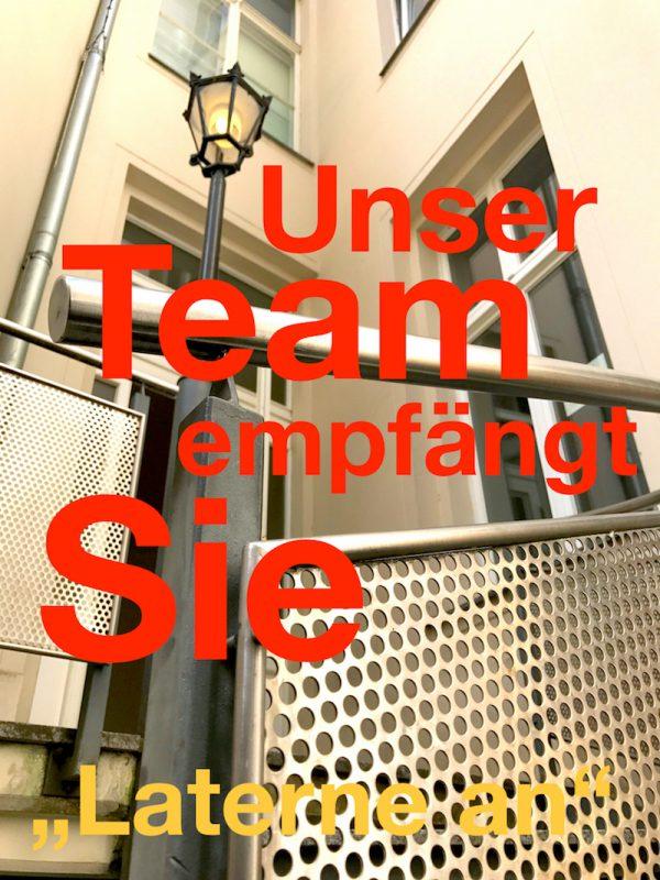 Aufgang Eingang Zugang Gewerbefläche saniert Heckmann Hoefe Oranienburger Strasse Synagoge Dr Joachim Koehrich Vermietung