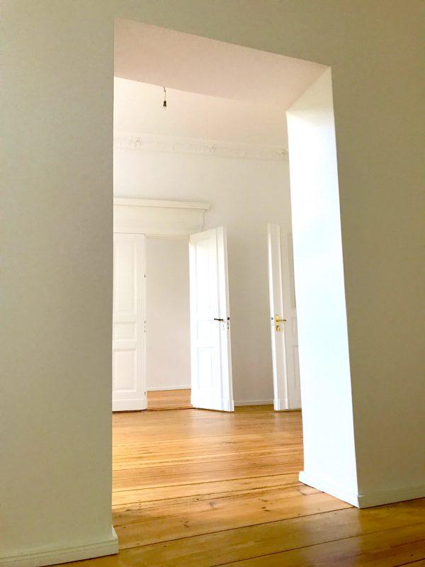 Durchgangszimmer Saal Gewerbefläche saniert Heckmann Hoefe Oranienburger Strasse Synagoge Dr Joachim Koehrich Vermietung