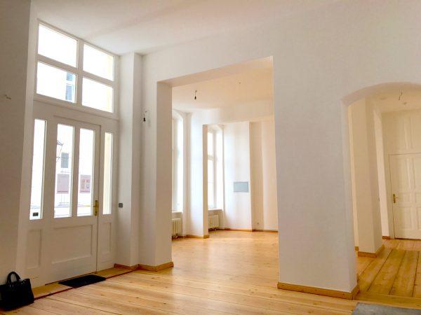 Empfang Saal Gewerbefläche saniert Heckmann Hoefe Oranienburger Strasse Synagoge Dr Joachim Koehrich Vermietung