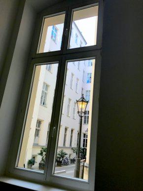 Hof eins Gewerbefläche saniert Heckmann Hoefe Oranienburger Strasse Synagoge Dr Joachim Koehrich Vermietung