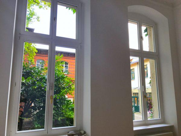 Hofblick Gewerbefläche saniert Heckmann Hoefe Oranienburger Strasse Synagoge Dr Joachim Koehrich Vermietung