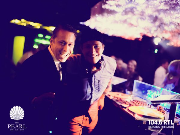 Afterwork Kudamm Gerry Concierge DJ Noppe 104 6 RTL Arno Müller Pearl Club Berlin pic Jan Schroeder