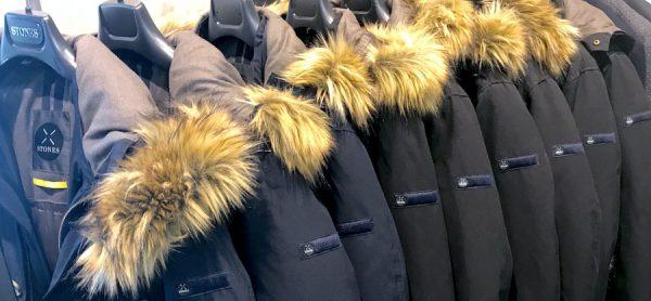 Stones Winterjacke Pelz outlet Grosshandelspreise Showroom Draga Thamke Grosshandel Fashion