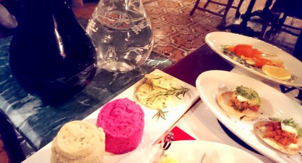 Osteria Maria Menue Speisen Vorspeisen