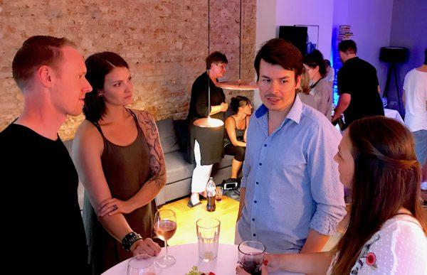 Gäste BENSIMON Apartment House Opening Party Benjamin Barg Simon Pfau
