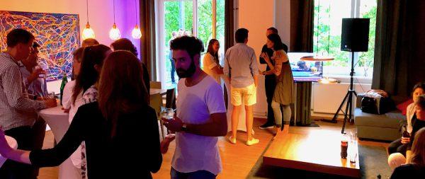 Party Opening Gäste BENSIMON Apartment House Opening Party Benjamin Barg Simon Pfau